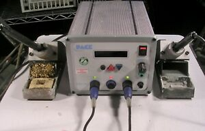 Pace Soldering Station Mbt350 With 2 Handles And Tips Plus Tested