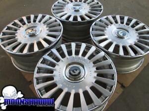 22 Forgiato Calibro Ecl Brushed Silver Wheels Rims Cadillac Eldorado Bmw