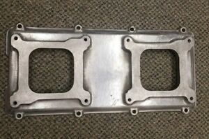 Edelbrock 7079 Victor Ram 2 R Intake Manifold Top Aluminum Bb Chevy