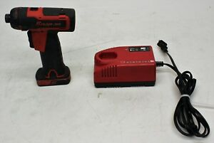 Snap On Cts761 14 4 V 1 4 Hex Cordless Screwdriver Used Fast Free Ship