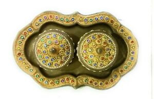 Antique Brass Made Mukhwas Tray Used As A Mouth Freshener