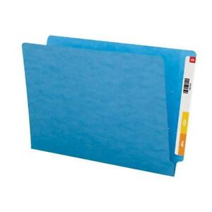 Smead Colored End Tab File Folder Shelf master Reinforced Straight cut Tab Le
