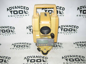 Topcon Gts 226 Total Station Transit With Case Charger 2 Batteries
