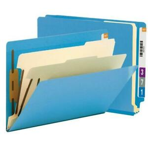 Smead End Tab Classification File Folder 2 Divider 2 Expansion Letter Size
