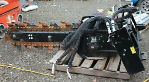 New Cat T9b Trencher Attachment 48 Skid Steer