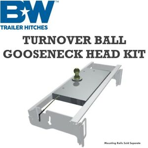 Gnrc907 B W Turnoverball Gooseneck Hitch Center Head Ball Dodge Ram Mega Cab