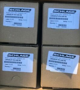 Schlage L9092eup 07a 626 Rx Electric Mortise Body With Rex Switch Brand New