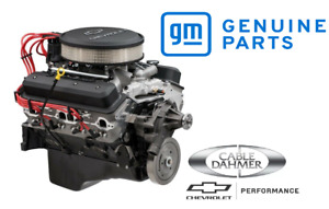 New Chevrolet Performance Gm Zz6 Efi Long Block Deluxe Engine 420hp 19417782