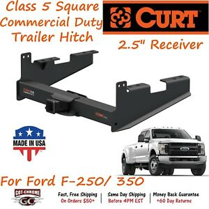 15802 Curt Class 5 Commercial Duty Trailer Hitch W 2 5 Receiver ford F 250 350