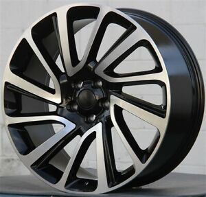 New 4 22 22x9 5 Wheels 5x120 Fits Range Rover Sport Supercharge Autobiography