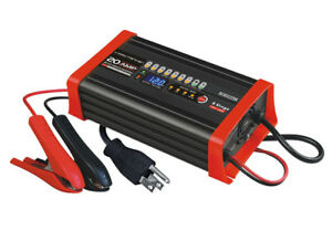 Bc8s1220a 12v 20a 8 Stage Smart Charger Maintainer Agm Gel Sla Truck Batteries