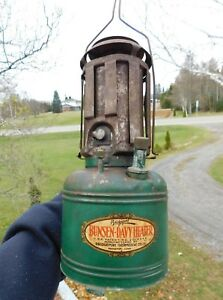 Vintage 1930 S 40 S Bunsen Davy Heater Car Engine Block Automobile Heater Nice