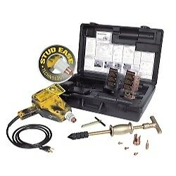 H And S Auto Shot 5500 Uni spotter Stinger Plus Stud Starter Welding Kit