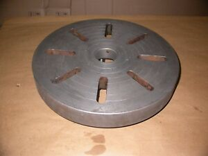 17 5 Diameter Lathe Face Plate W D1 6 Mount Approx 2 1 4 Thick Large