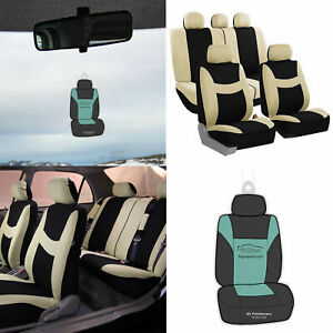 Auto Seat Covers For Car Suv Van Truck Universal W Accessories Gift 11 Colors