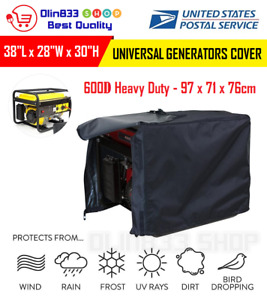 Leader Accessories Universal Generator Cover Waterproof Size Xl 38 lx28 wx30 h