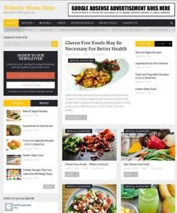 Food Store Work From Home Online Business Website For Sale Domain Hosting