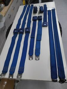 1969 Gto Lemans Tempest Olds Chevelle Buick Seat Belts