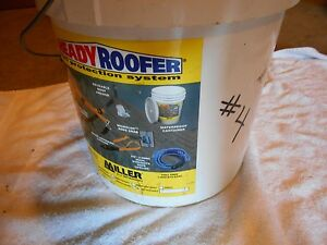 Miller Ready Roofer Fall Protection System brfk25 25ft Used 4
