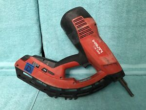 lotd Used Hilti Gx 120 Gm40 Gas Powered Actuated Nail Gun Fastening Tool