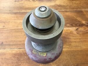 Vintage Beacon Wheel Tire Bubble Balancer With Weight Gas Station Man Cave Works