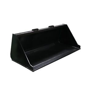 60 Skid Steer Bucket Attachment 3 16 Thick For Dirt And Debris Loading