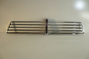 Restored 1957 Gmc Truck Rechromed Grille T Center Bar Trim Molding