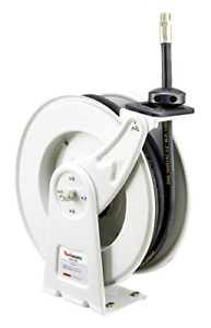 Reelworks Elite Series Heavy Duty Spring Driven Oil Hose Reel 1 2 X 50 Ft Oil