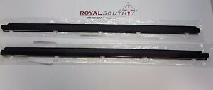 Toyota Tundra Access Cab Door Belt Moulding 2pc Set Weatherstrip Genuine Oem Oe