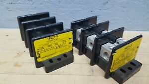 Lot Of 2 Bussmann 16021 3 Power Terminal Block 175amp 600v