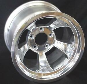 4 New 15x8 Gmc Chevy Truck 5 On 5 Bp Gasser Rat Rod Halibrand Style new