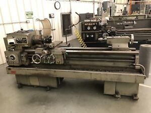 Lodge And Shipley Avs 1408 Tool Room Engine Lathe Metalworking