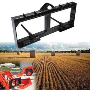 Tractor Front Loader Attachment 3 000 Lb Spike Skid Steer For 49 Hay Spear