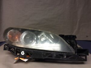 04 05 06 Mazda 3 Sedan Right Driver Side Headlamp Assembly