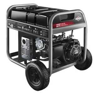 Briggs Stratton 30608 5500 watt Portable Gas Generator for Parts