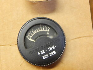 10 1163 Military Sound Audio Meter 0db 1mh 600 Ohm 6625 00 057 1547