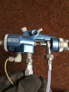 Binks Mach 1 Hvlp Automatic Paint Spraygun Model Bbr