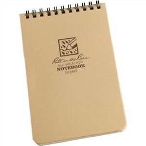 Rite In The Rain 946t Hip Pocket Tactical Spiral Notebook polydura Cover 4 X 6