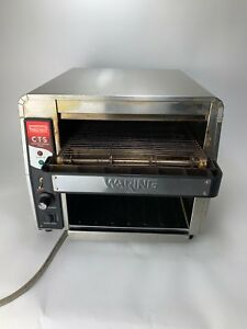Waring Cts1000 Commercial Conveyor Toaster 120v Works Cts 1000 450 Slices hr