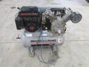 Ingersoll Rand T30 Gas Powered Portable Air Compressor 2 Stage Model 2475f9gka