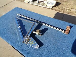 1963 63 Mercury 2 Door Ht Left Vent Window Assembly Ford Galaxie