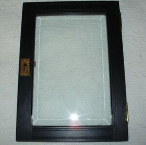 Replacement Door For Victorian Wall Cabinet Beveled Glass Eastlake Style