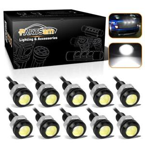 10pc White Eagle Eye Off Road Led Rock Underbody Light For Jeep Truck Motorcycle