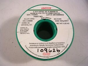 Multicore Lead Free 97sc Crysl C511 88 Dia Loctite Roll No Clean