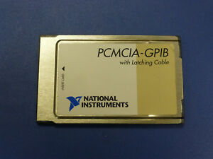 National Instruments Ni Pcmcia gpib Interface Card 186736c 01