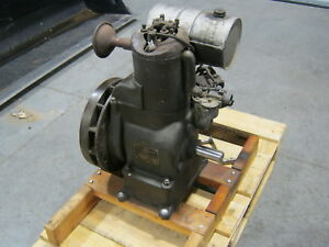Antique Vintage Ua Lauson Gas Engine 1933 35 Stationary Rare Air Cooled Motor