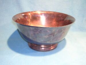 Paul Revere Bowl By F B Rogers Silver Co 10 Wide And 5 High