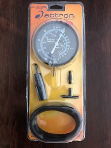 Actron Cp7803 Vacuum Pressure Test Kit New