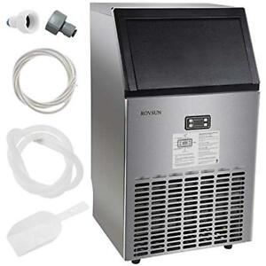 Commercial Ice Maker Automatic Built in Stainless Steel Under Counter Portable