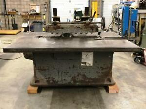 Deihl 75 Straight Line Rip Saw 15hp Direct Drive